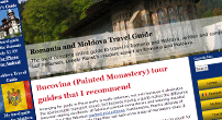 Romania and Moldova [http://romaniaandmoldova.com/] recommends me as a very good licensed tour guide.